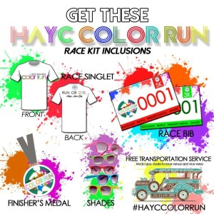 HAYC COLOR RUN